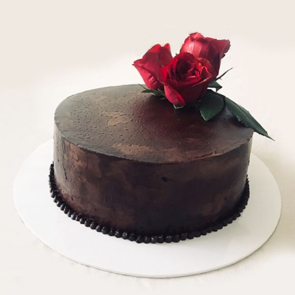 The Date Night - Salted Caramel filled Chocolate Cake by Mei Mei's Bake House