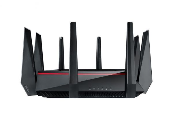ASUS RT-AC5300 Wireless Tri-Band Gigabit Router, AiProtection with Trend Micro for Complete Network Security AC5300
