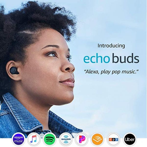 Amazon Echo Buds - True Wireless earbuds with active noise reduction and Alexa