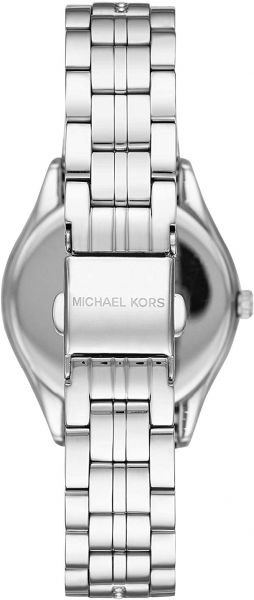 Michael Kors Mini Lauryn Pavé Silver-Tone Watch MK3900