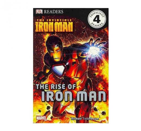 The Invincible Iron Man , The Rise of Iron Man by Michael Teitelbaum - Paperback