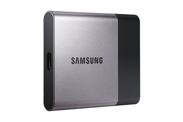 Samsung T3 Portable 250GB USB 3.0 External SSD (MU-PT250B/AM)