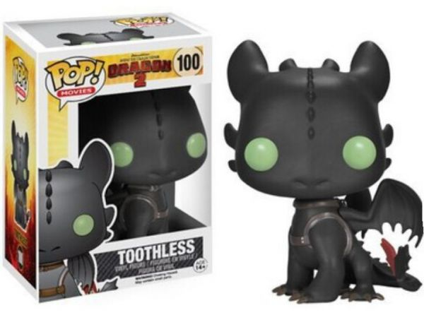 Funko POP How to Train Your Dragon 2 Toothless Toy PVC Collectible Kids