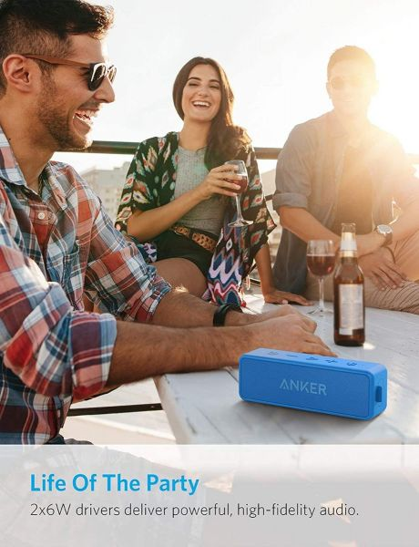 Anker Soundcore 2 - Portable Mini Bluetooth Speaker