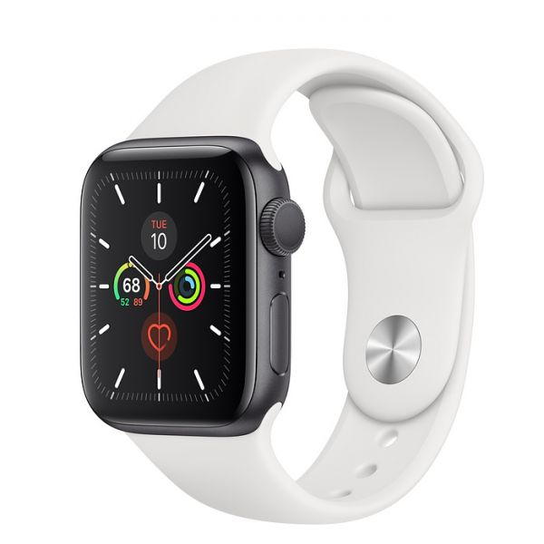 Apple Watch Series 5 Space Gray Aluminum Case With Sports Band 44mm GPS