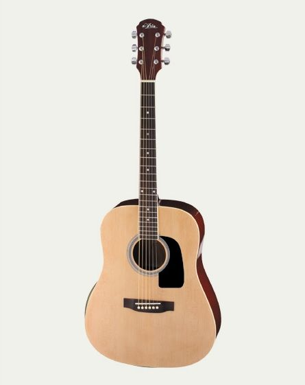 Aria AWN-15 Left Handed Dreadnought Acoustic Guitar