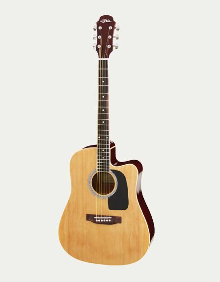 Aria AWN-15CE Semi Acoustic Guitar with EQ