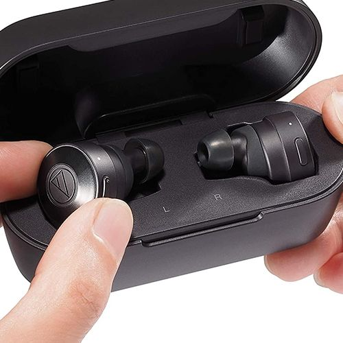 Audio-Technica ATH-CKS5TW ― Solid Bass Wireless Earbuds