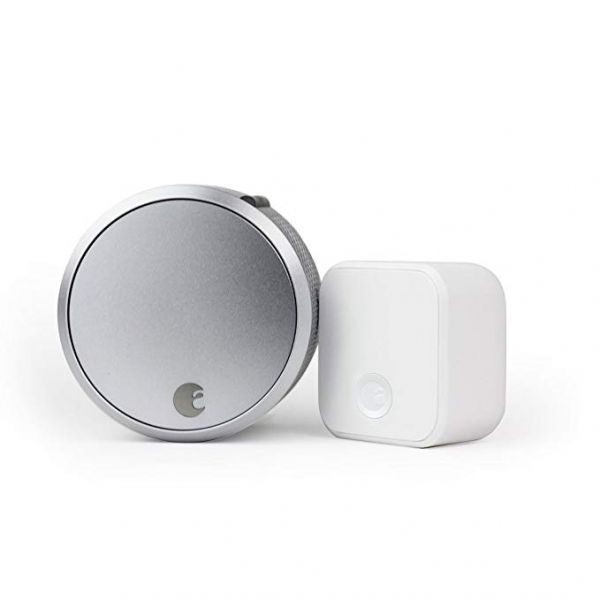August Smart Lock Pro + Connect, 3rd gen technology, works with Alexa