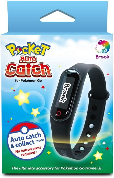 Brook Pocket Auto Catch - Auto catch compatible for Pokemon Go plus, Catching Pokemon and collecting items just got easy, (Android version)