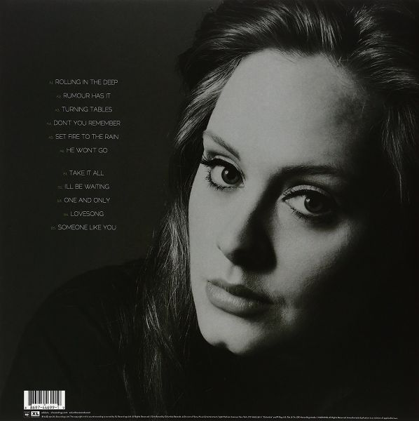21-Adele Original Vinyl Disc