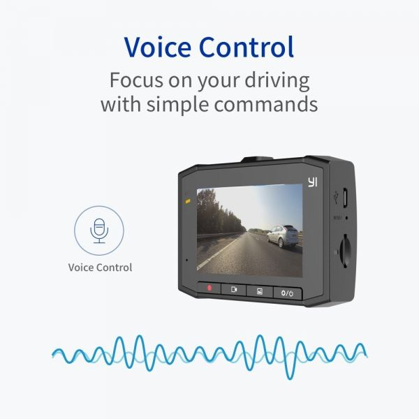 YI Ultra, 140° wide-angle Voice Controlled 2.7K Wide Angle Dash Camera