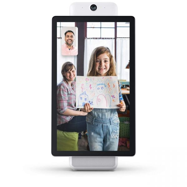 Portal Plus from Facebook - Smart, Hands-Free Video Calling with Alexa Built-in