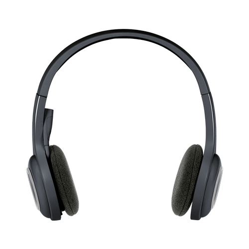 Logitech H600 Wireless Headset for Computers via USB Receiver