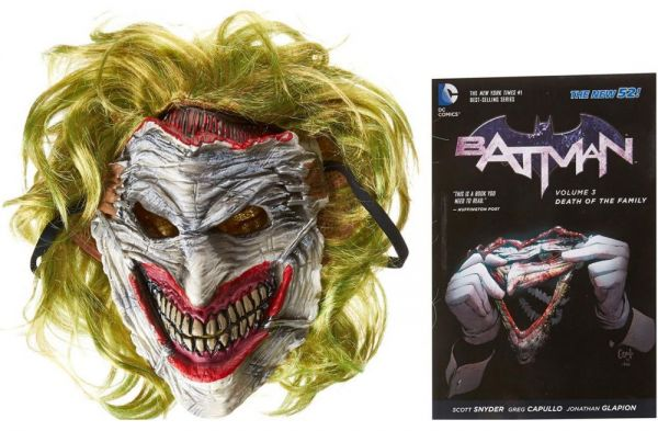 Batman: Death of the Family Book and Joker Mask Set by Scott Snyder - Paperback