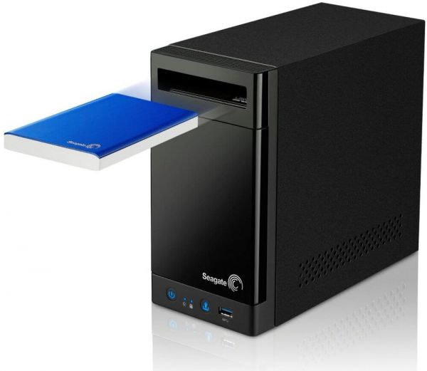 Seagate 8 TB 2 Bay NAS Business Storage Portable Hard Drive