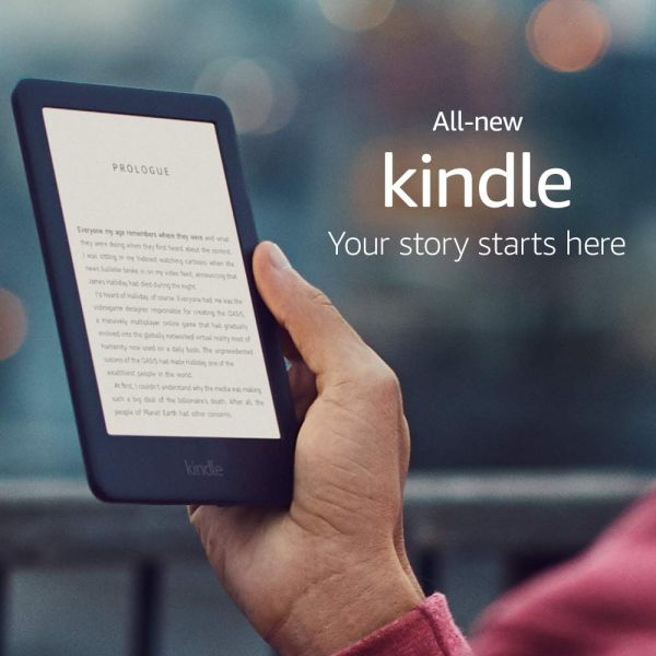 Kindle E- Reader 2019 with Built-in Front Light (10th Gen)