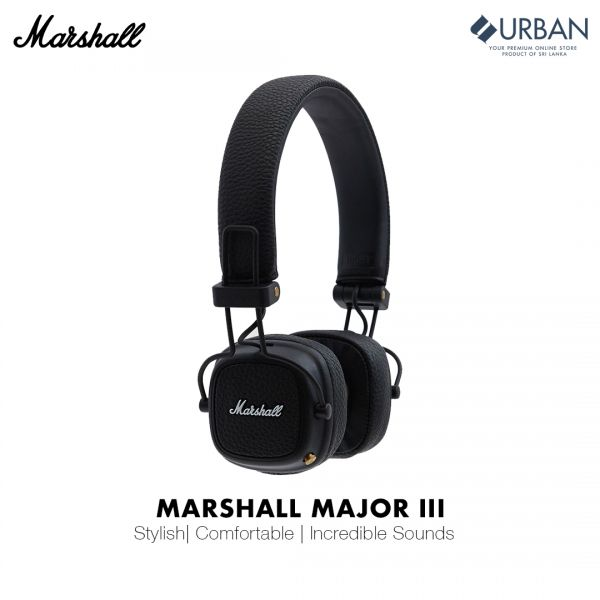 Marshall Major III On-Ear Bluetooth Headphone (Major 3)