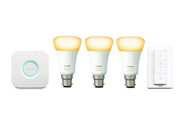 Philips Hue White Ambiance Starter Kit (B22)