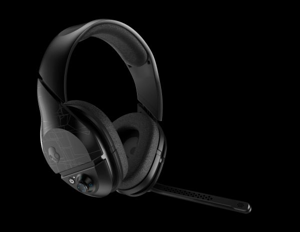 Skullcandy PLYR1 7.1 Surround Sound Wireless Gaming Headset, Black
