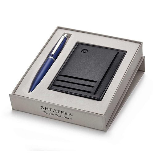 Sheaffer 9401 Metal Ballpoint Pen with Credit Card Holder (WP19412)