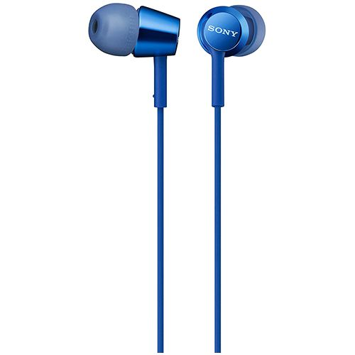 Sony MDR-EX155AP In-Ear Headphone with Mic