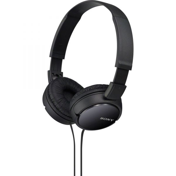 Sony Sound Monitoring Over The Ear Headset [Black, MDR ZX110AP]