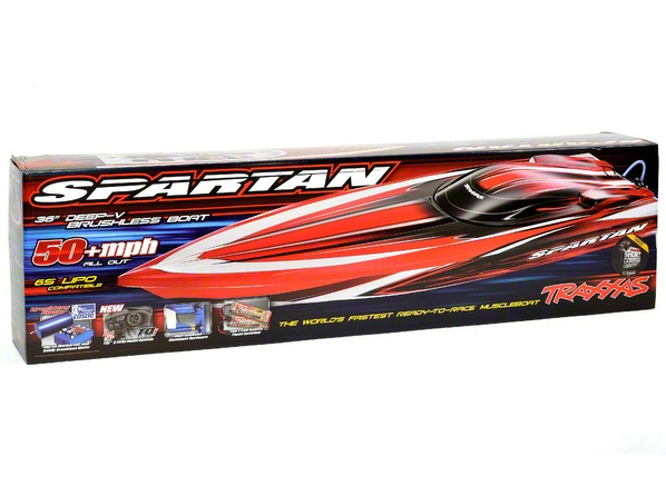 Spartan VXL-6S/Castle Brushless 2.4GHz RTR-TRA-5707