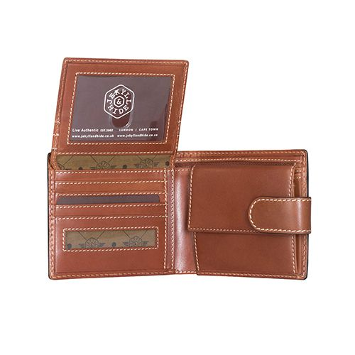 Jekyll and Hide 6353TECL Texas Bifold Wallet - Clay (WP-23691)